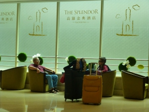 Arriving at The Splendour in Kaohsiung